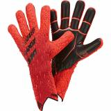 adidas PREDATOR GLOVE PRO, keeperhansker senior 7 Solar Red/red/black