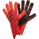 adidas PREDATOR GLOVE PRO, keeperhansker senior 11 Solar Red/red/black