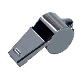 Select Dommerfløyte i metall med fingergrep Large brass