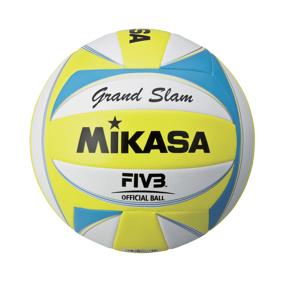 Mikasa Grand Slam, sandvolleyball STD White/Yellow/Blue