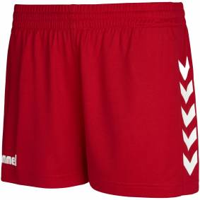Hummel Core Womens Shorts, treningsshorts dame XL True Red Pr