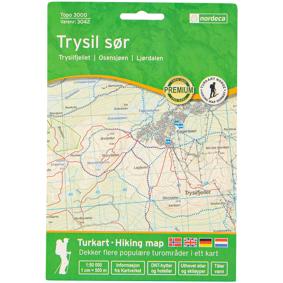 Nordeca Trysil Sør 1:50 000,kart