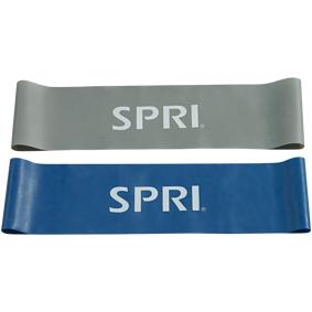 SPRI Flat Band Loop Set 2-pk, treningsbånd One Size STD