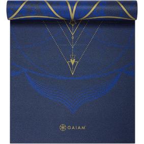 Gaiam 6 mm vendbar yogamatte 6mm Sun&Moon