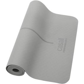 Casall PRF Yoga and Exercise mat 4mm, treningsmatte 4mm Grey/Black/Orange