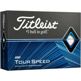 Titleist Tour Speed - 2021, golfball One Size White