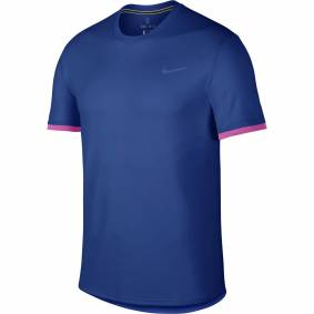 Nike M NKCT DRY TOP SS CLRBLK INDIGO FORCE/ACTIVE