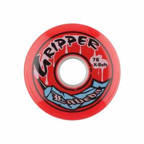 Labeda Gripper X-Soft, inlinehjul 80mm Red