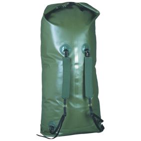 Bergans Packsack w/Carring Streaps, pakksekk kano STD Green