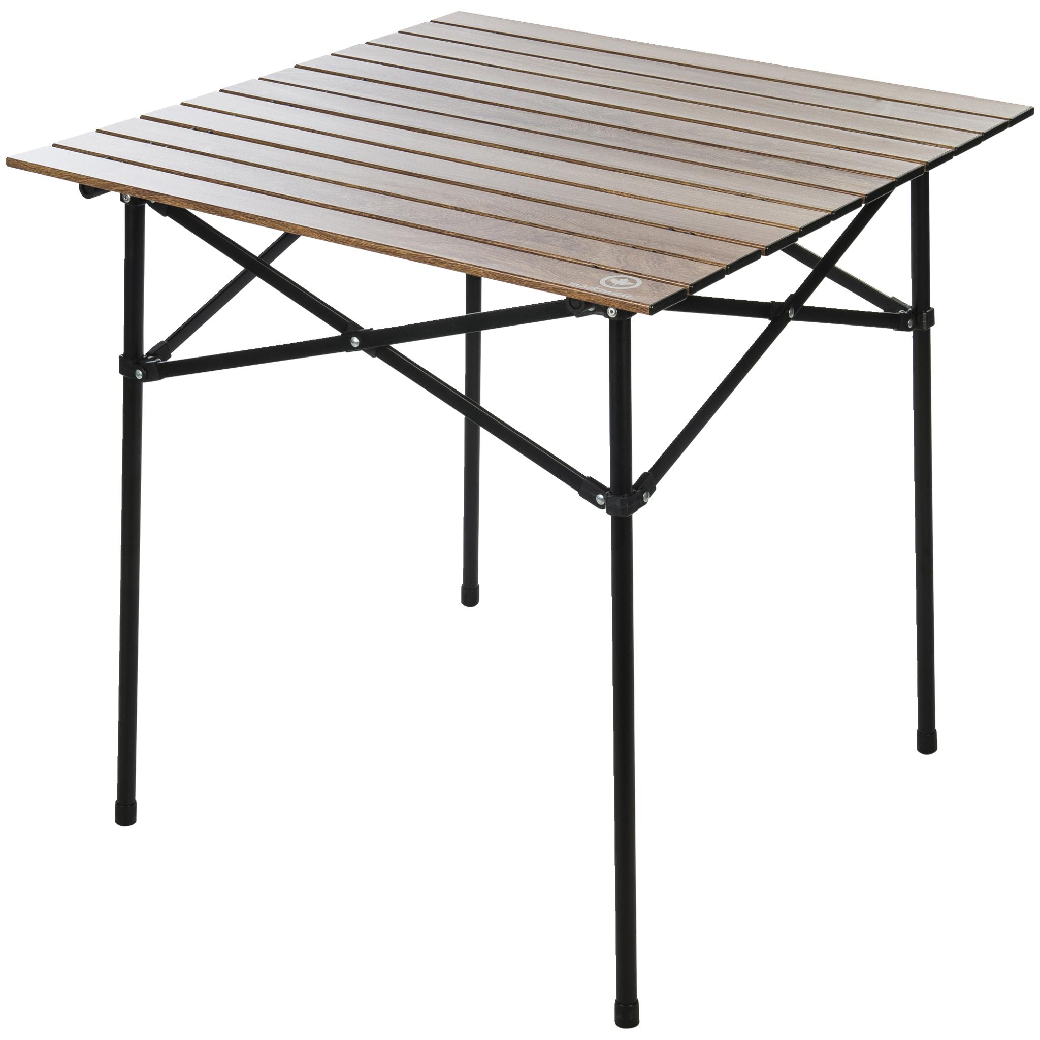 Aluminium Table Wood One Size