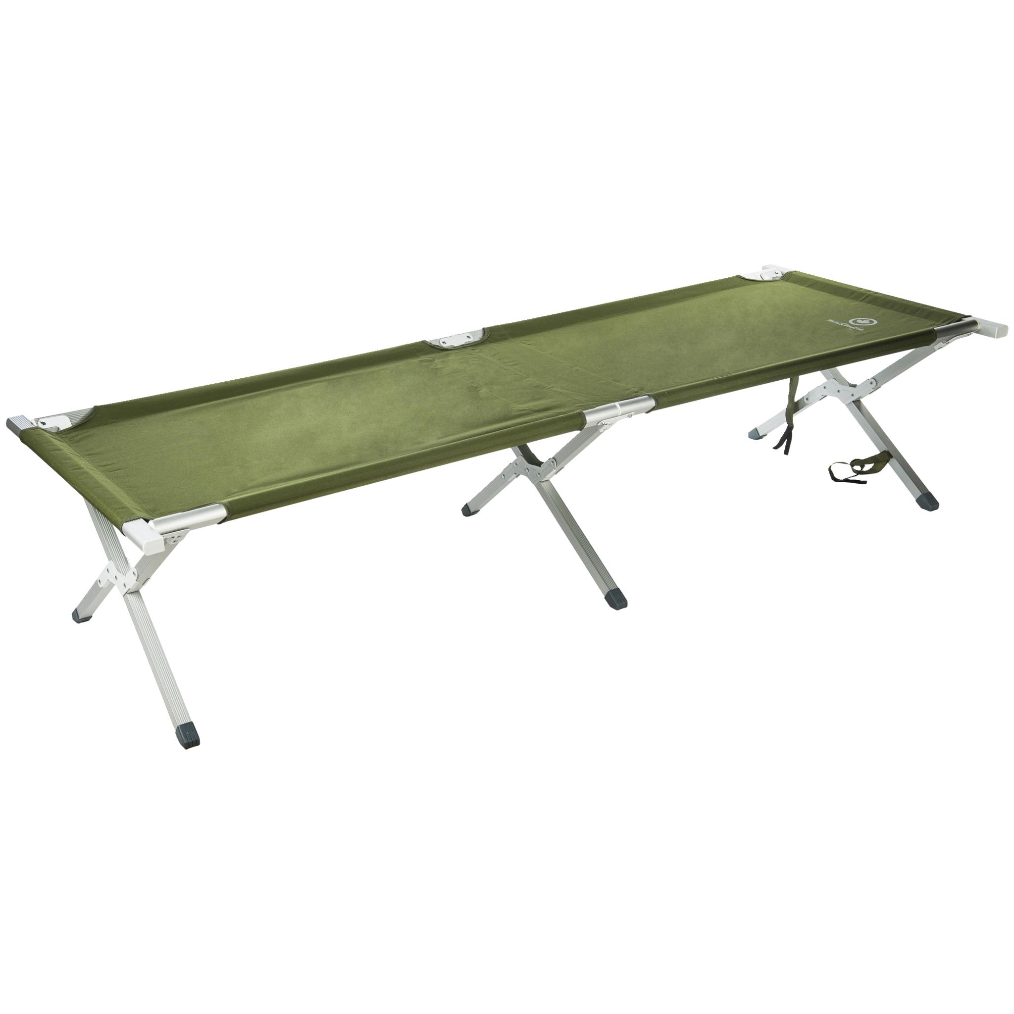 Mackenzie Aluminium Camping Bed, feltseng