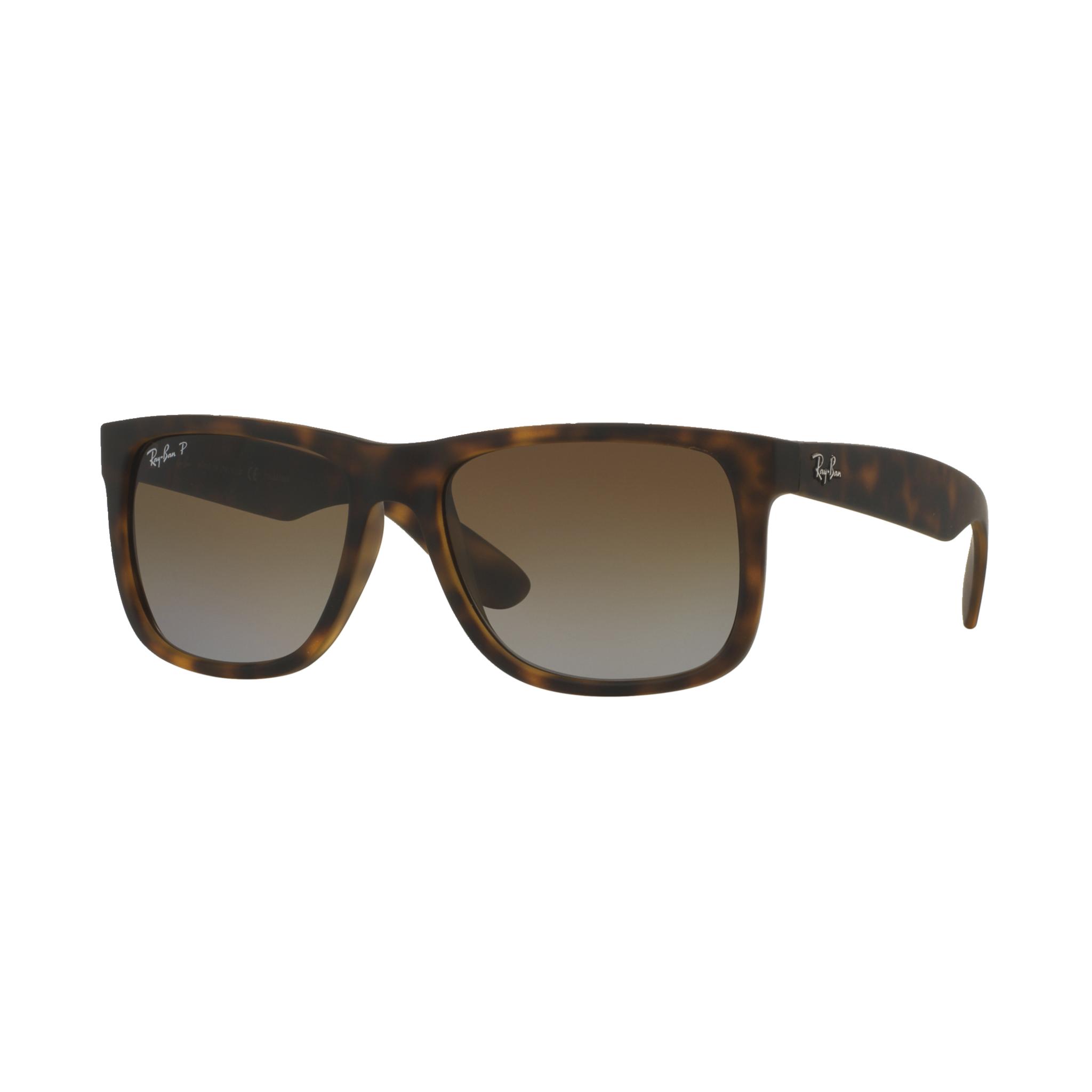 Ray-Ban Justin 865/T5 55, solbriller 55 HAVANA RUBBER