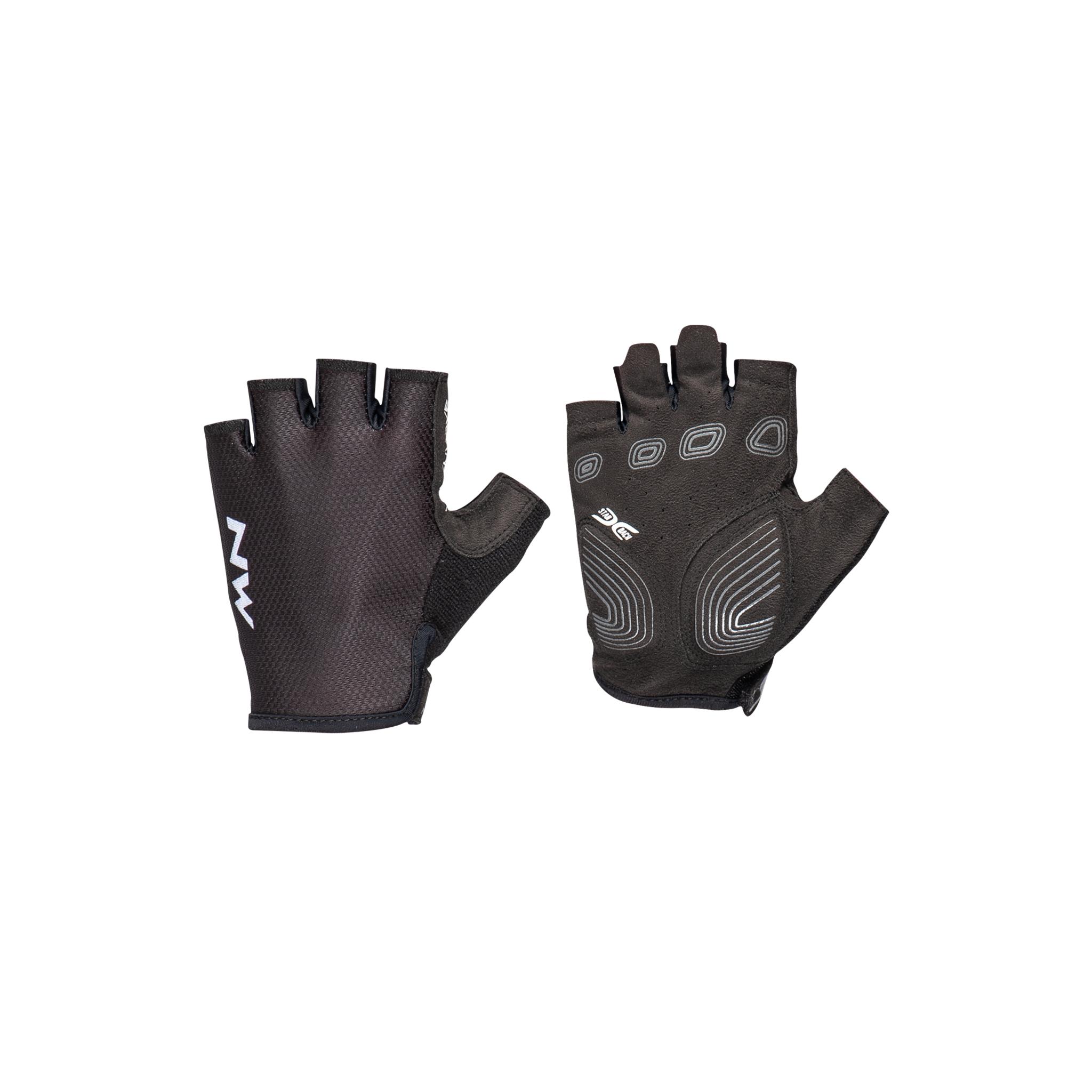 Northwave Active Short Finger 21, sykkelhanske, dame L BLACK