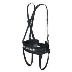 Fjellpulken Standard Harness 20/21, pulksele, unisex STD BLACK