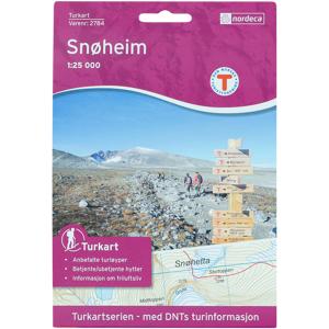 Nordeca Snøheim 1:25 000,kart