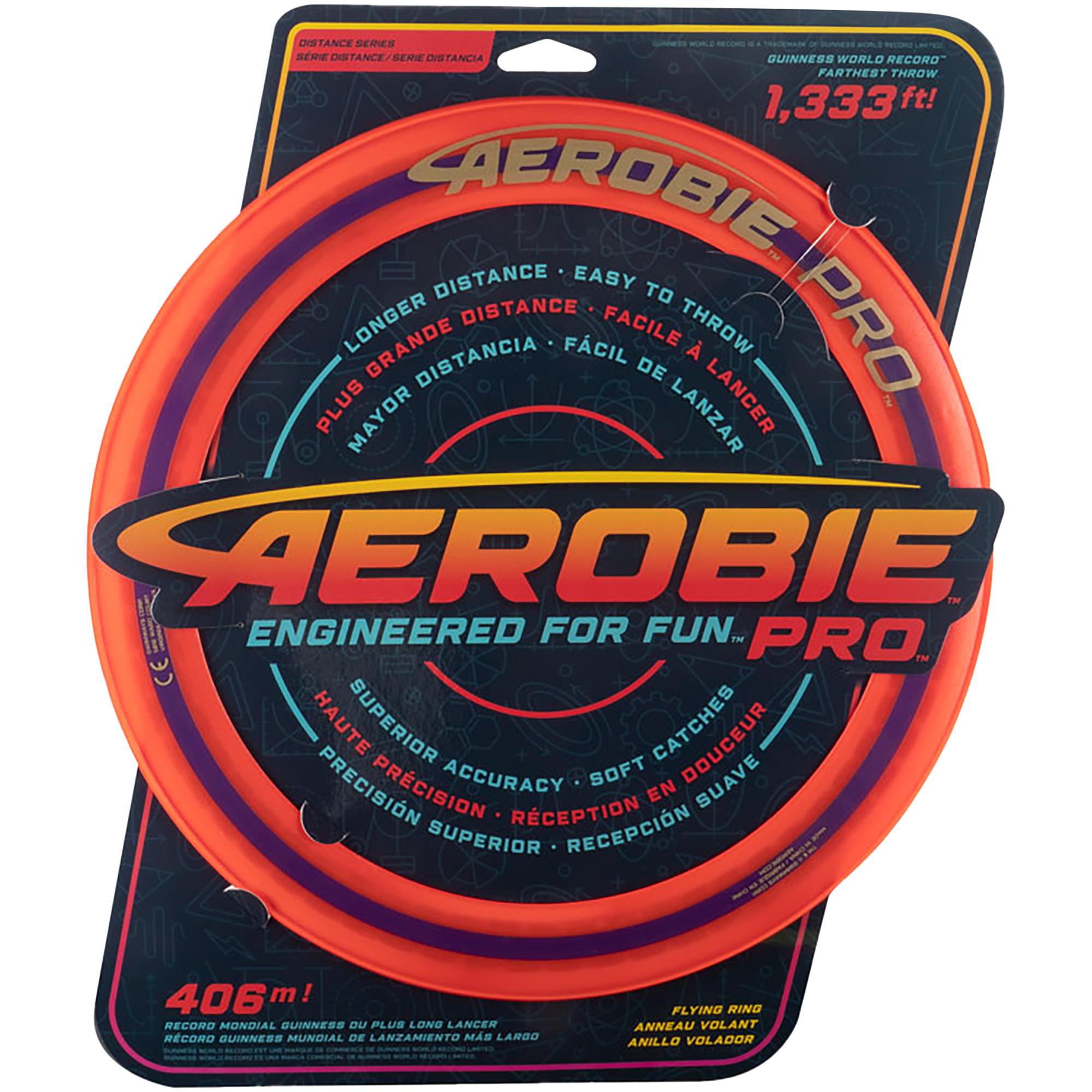 Aerobie Pro ring, frisbee STD Orange