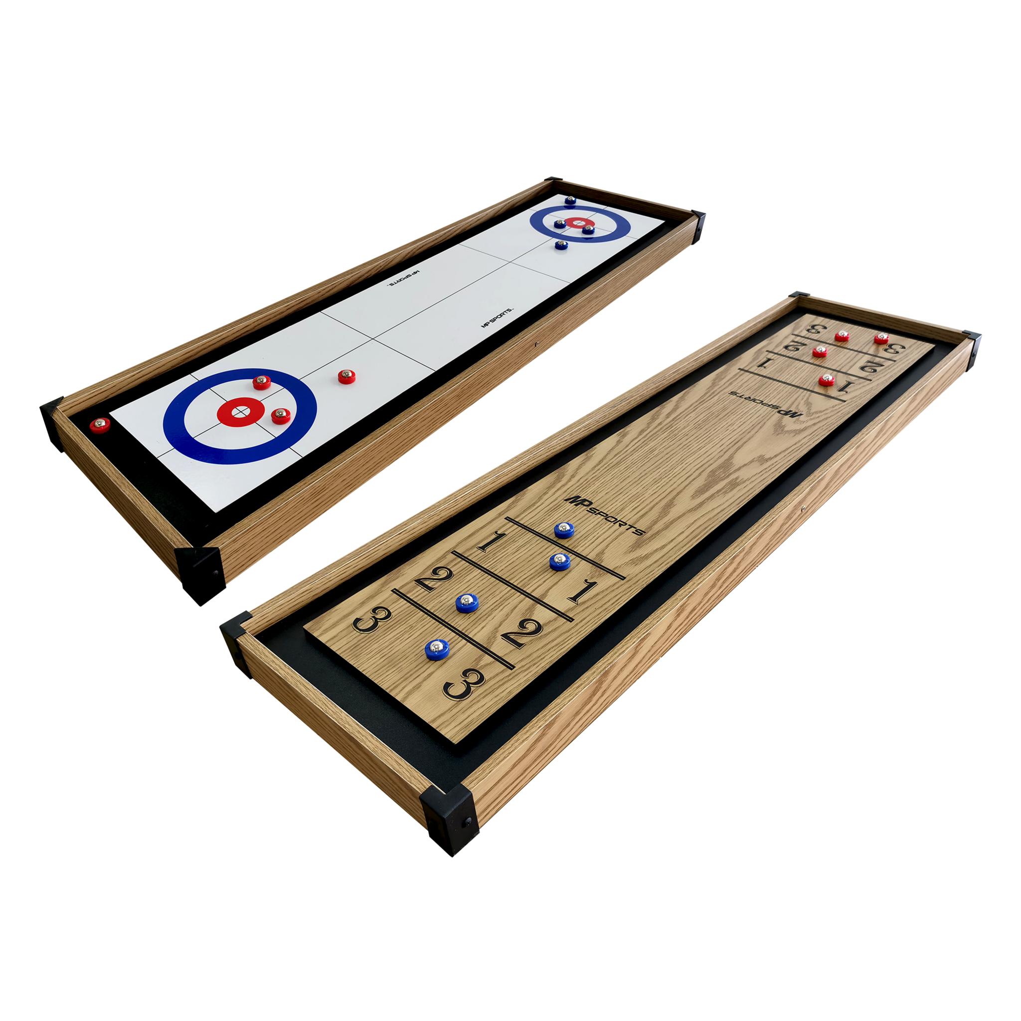 MD Sport MP Sports - 2 in 1 Tabletop Shuffleboard 45, shuffleboard STD Wood