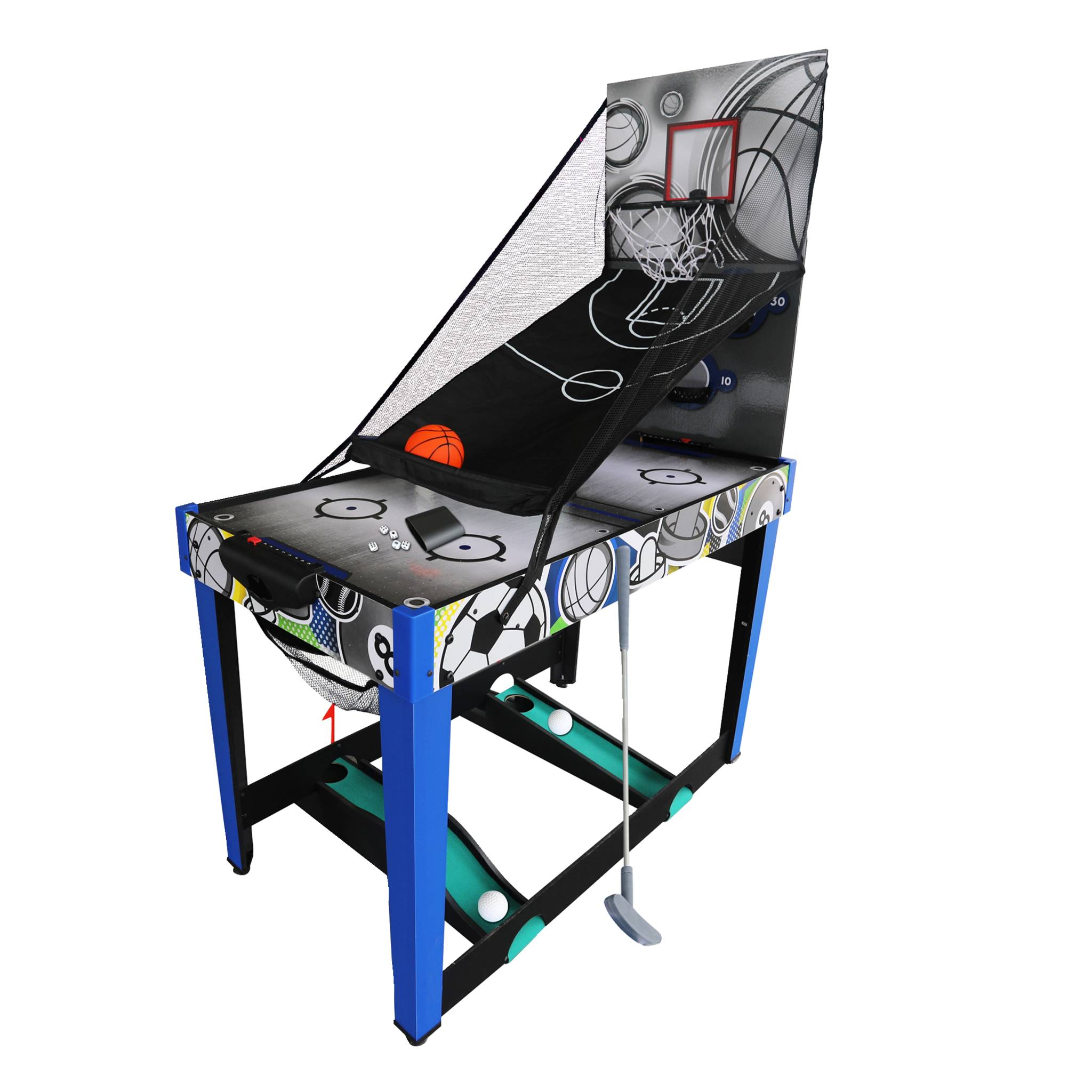 MD Sports Multispillbord 13-i-1 48''