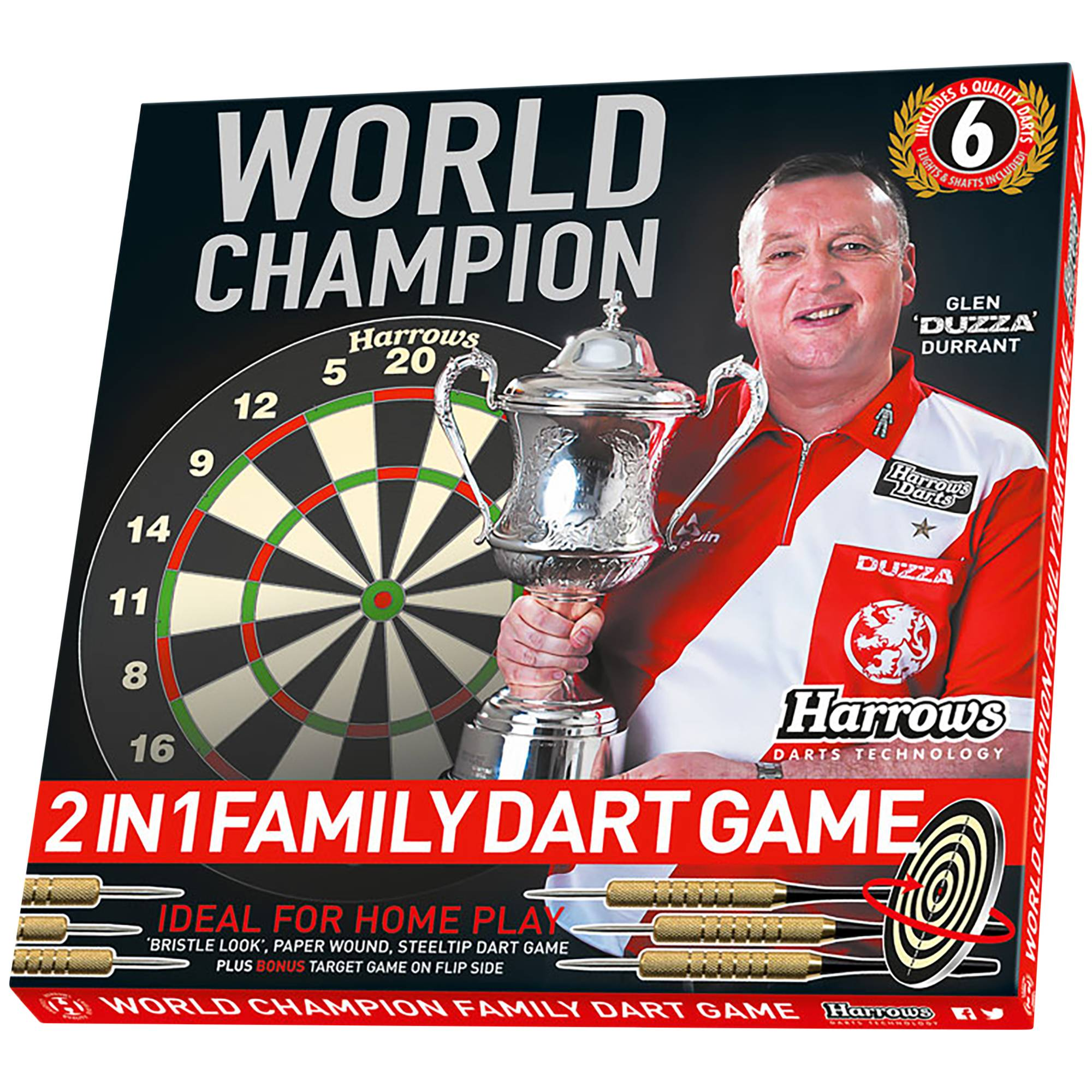 Harrows World Champion Game Set, dartspill
