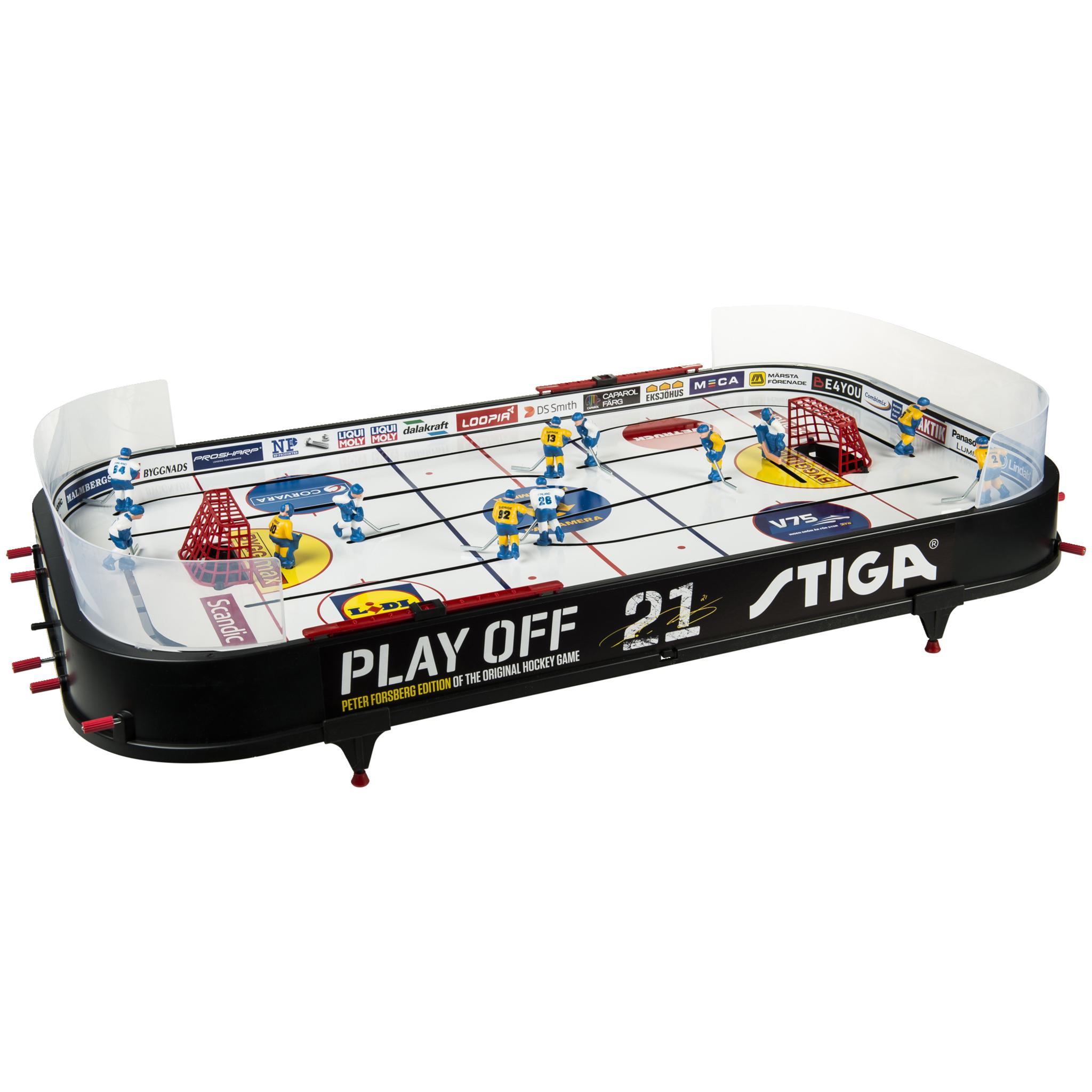 Stiga Play Off 21 Sverige-Finland, bordhockeyspill