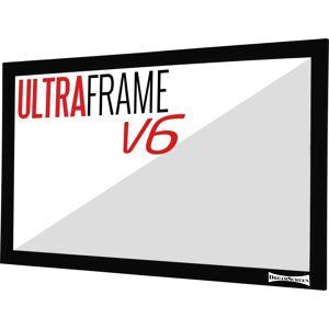 """Dreamscreen V6 Ultraframe 16:9 285cm / 129"""" -Kun Ramme-"""