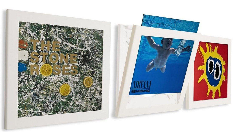 Vinylramme - Play & Display - Hvit 3Pk