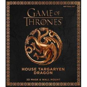 Game of Thrones Mask - House Targaryen Dragon - 3D Mask & Wall Mount