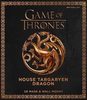 Game of Thrones Mask - House Targaryen Dragon - 3D Mask & Wall Mount