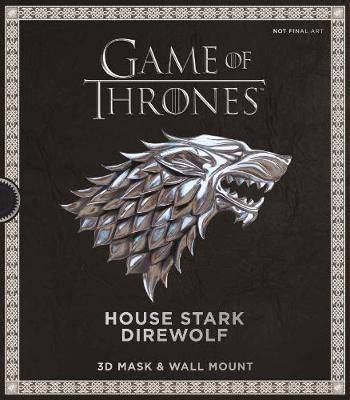 Game of Thrones Mask: House Stark Direwolf