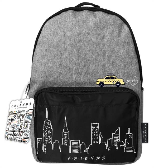 Friends Denim Backpack (Taxi)