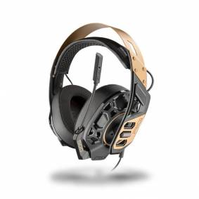Plantronics Gamingheadset RIG 500 PRO Metal Headband Gold