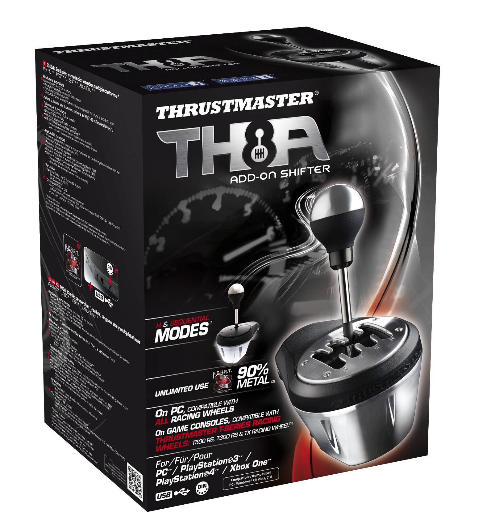 Thrustmaster Th8a  Pc/Xbox One/Ps3/Ps4