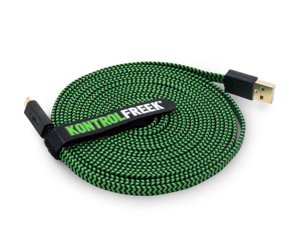Kontrolfreek - USB Kabel - Grønn Og Svart