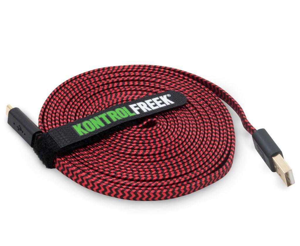Kontrolfreek - USB Kabel - Rød Og Svart