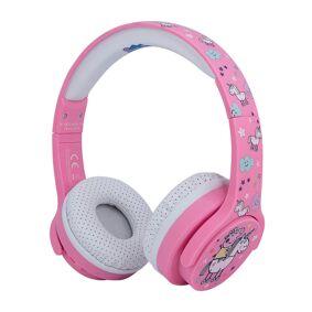 PEPPA GRIS Hodetelefon For Barn - Trådløs - Rosa Unicorn