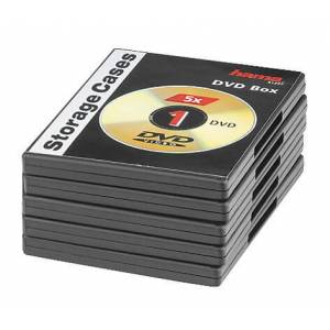Hama DVD Tomcover - 5 Pack