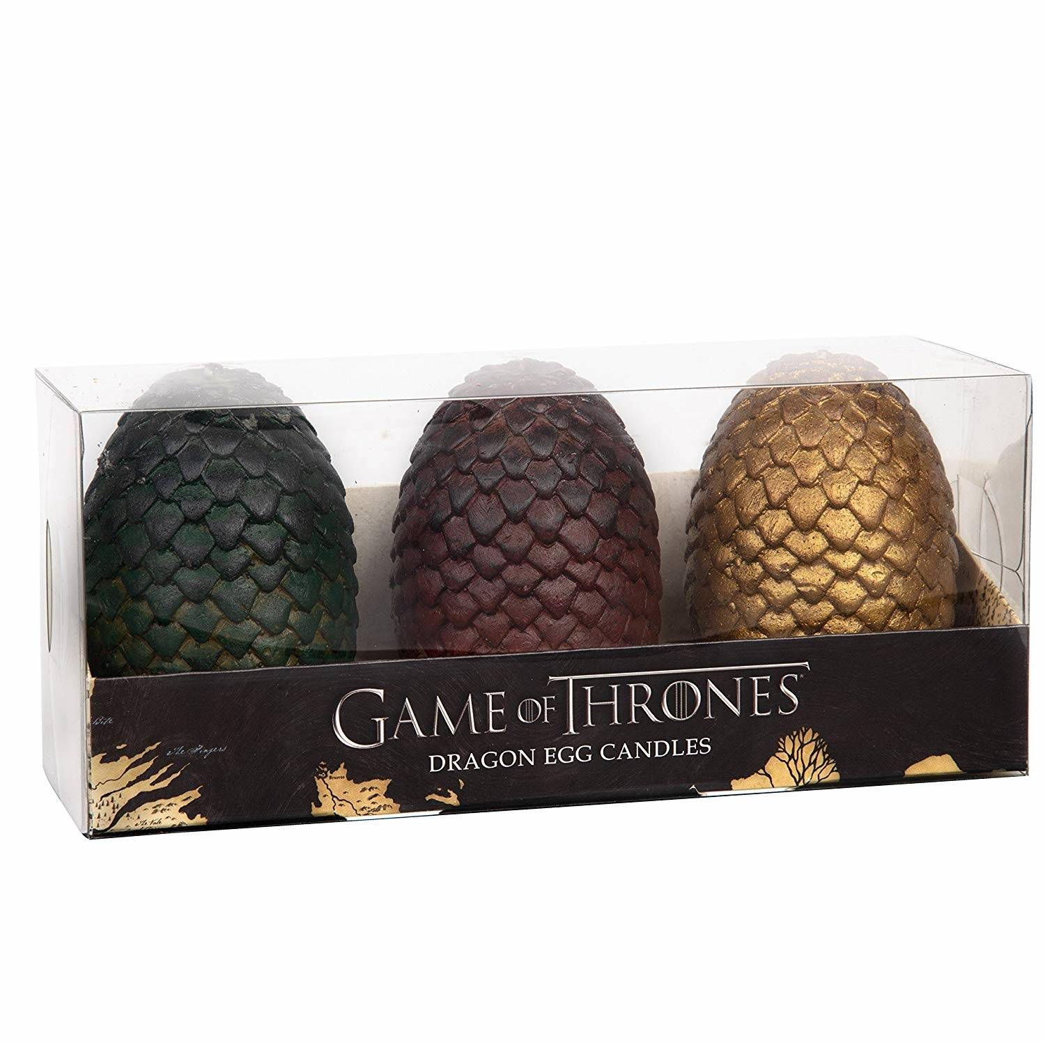 Dragon Game of Thrones: Sculpted Dragon Egg Candles