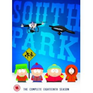 South Park - Sesong 18 (UK-import)