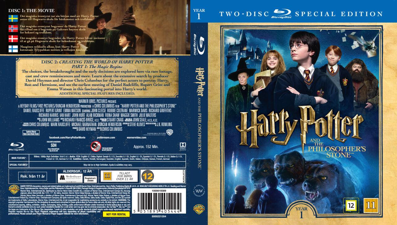 Harry Potter Og De Vises Stein (1) - Special Edition