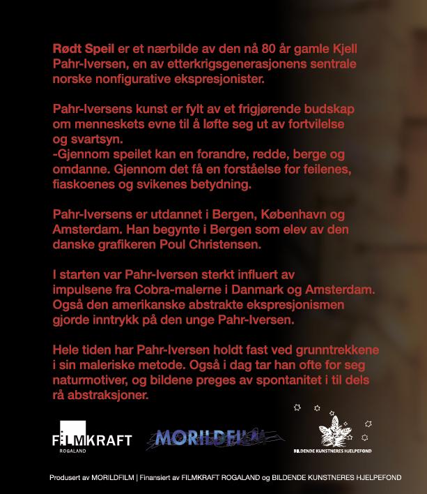 PLATEKOMPANIET Kjell Pahr-Iversen - Rødt Speil