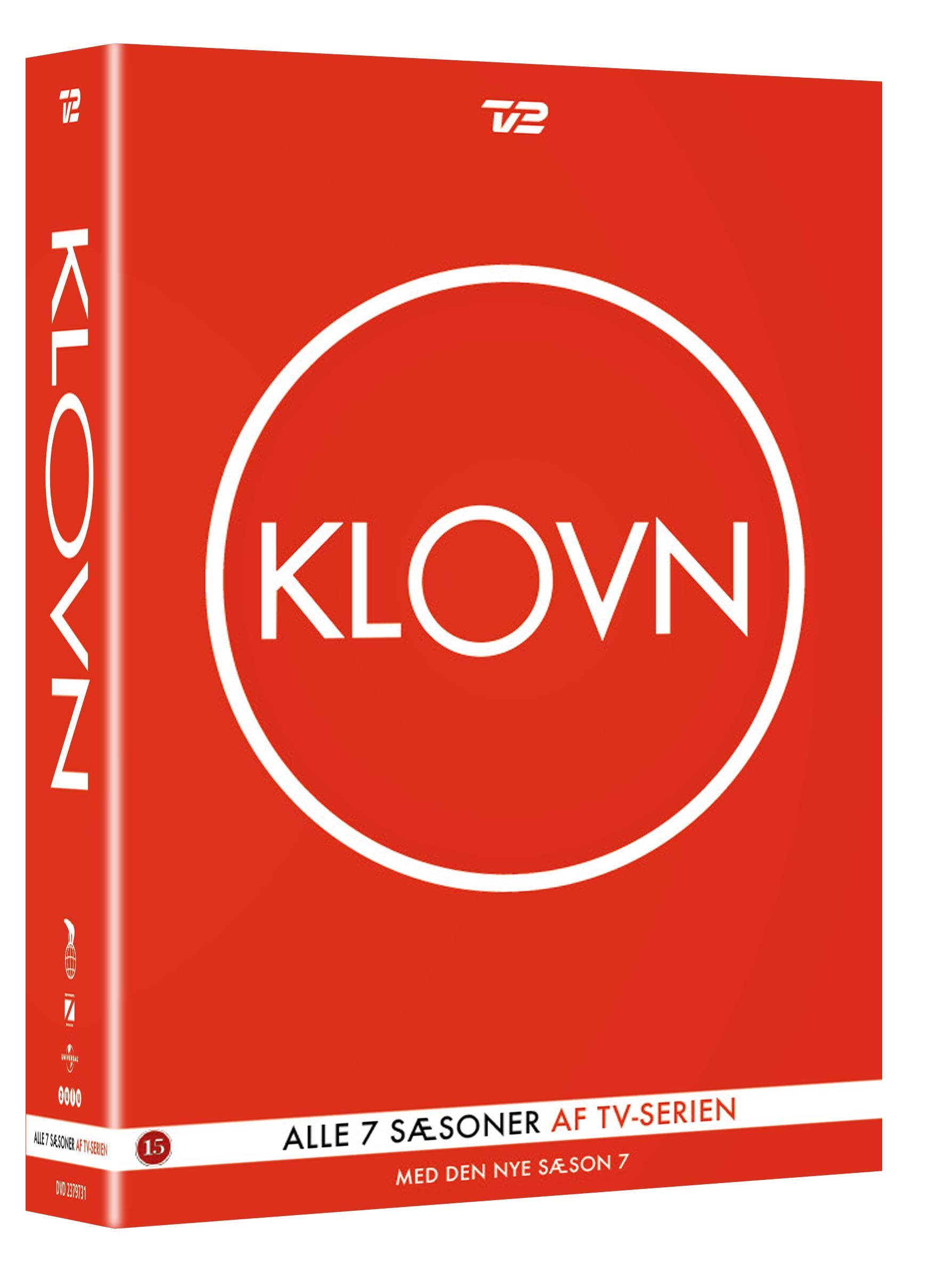 Klovn - Sesong 1-7 (DK-import)
