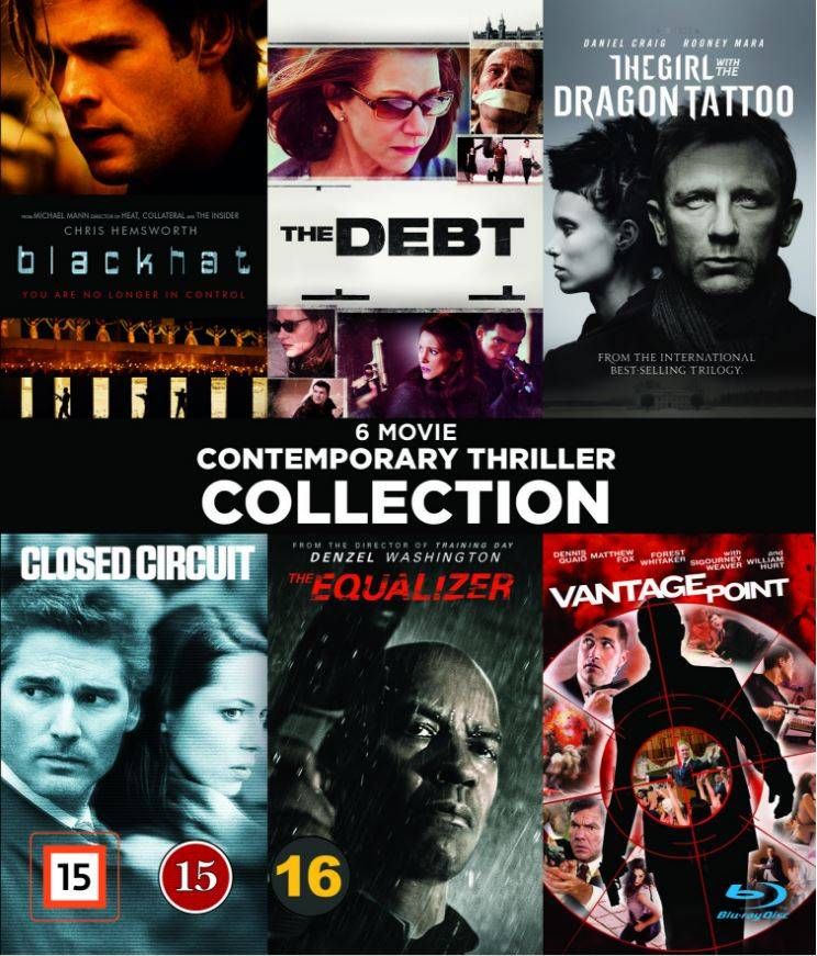 Contemporary Thrillers - Vol. 1