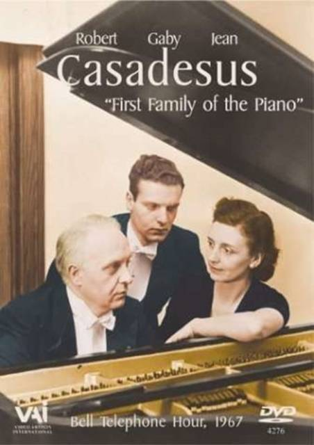 Robert/Jean/Gaby Casadesus: First Family Of The Piano (UK-import)