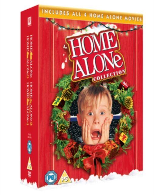 Home Alone/Home Alone 2 /Home Alone 3/Home Alone 4 (UK-import)