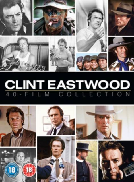 Clint Eastwood 40-Film Collection (UK-import)