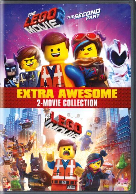 Lego The LEGO Movie 1 & 2 - 2-Film Collection (UK-import)
