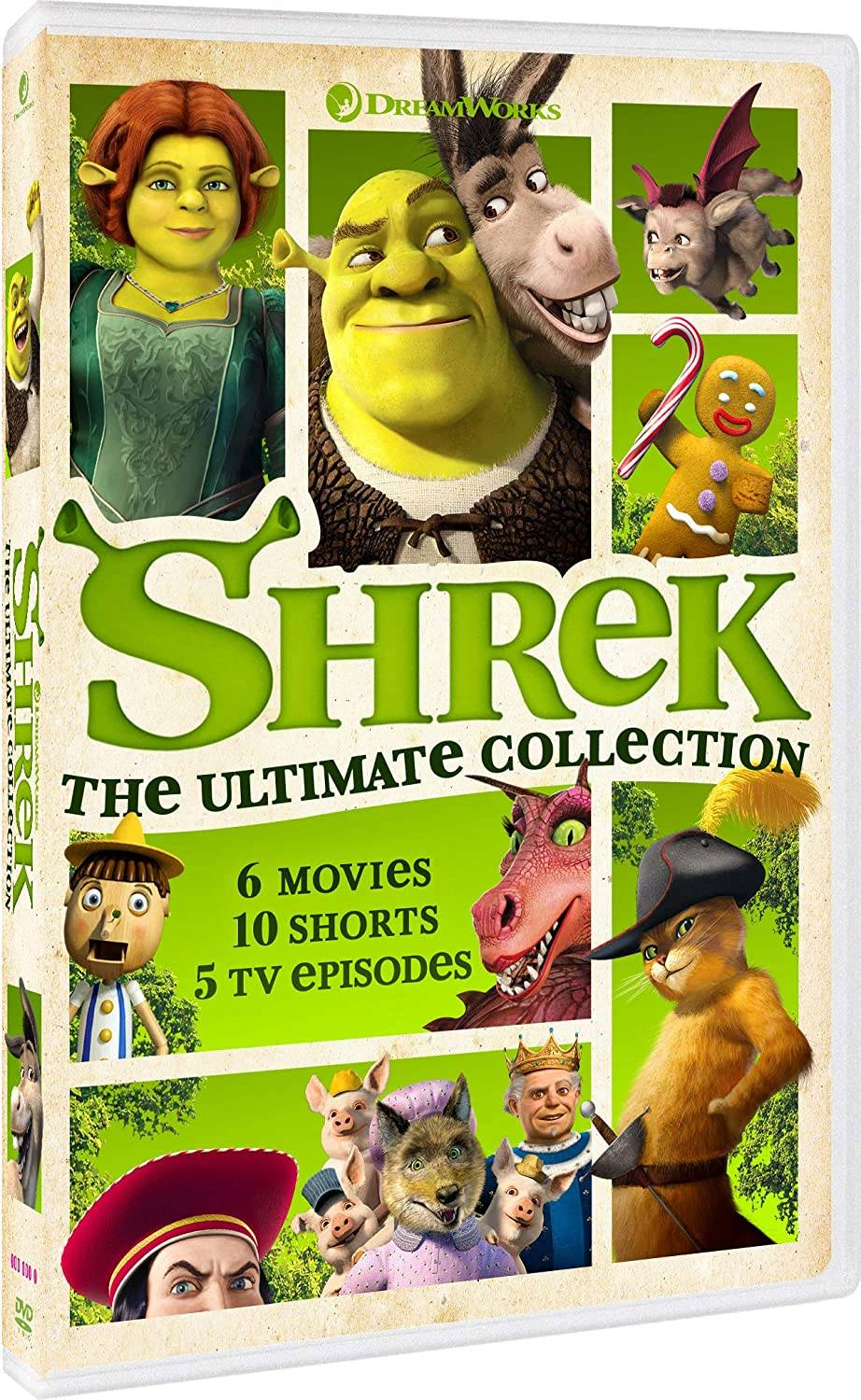 Shrek: The Ultimate Collection (UK-import)