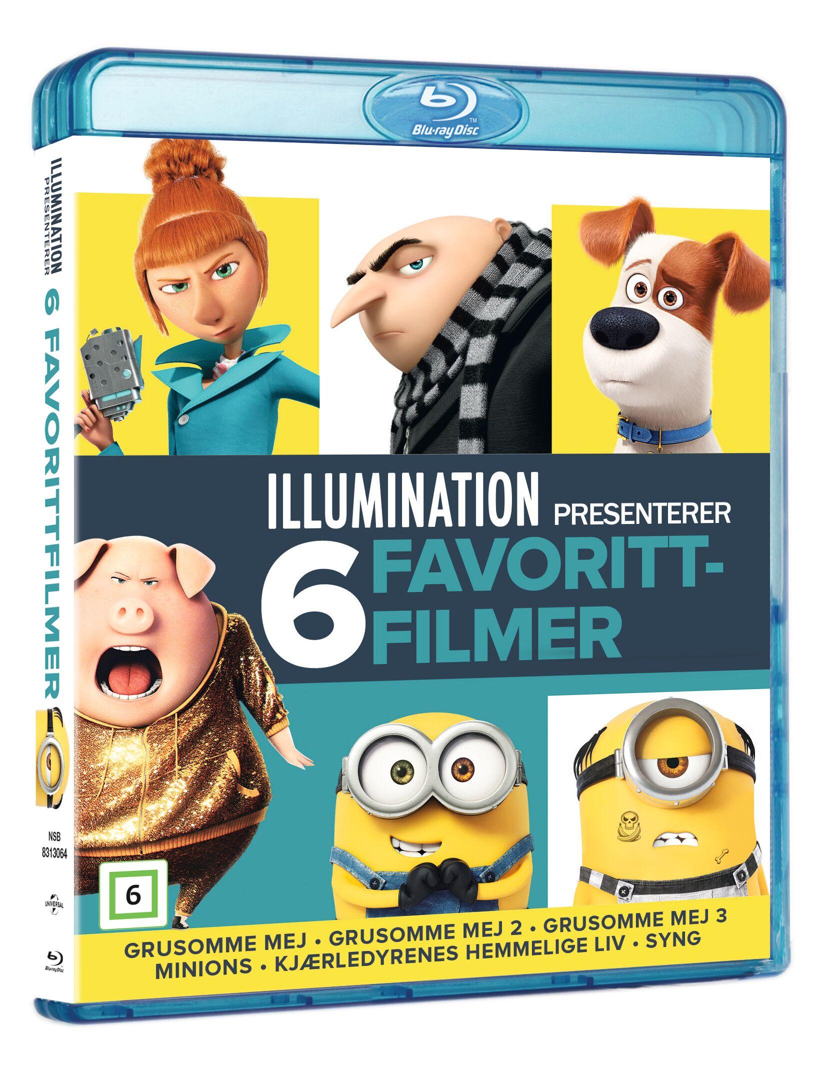 Illumination - 6 Movie Collection