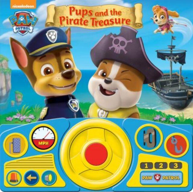 PAW Patrol - Pups & the Pirate Treasure Steering Wheel Book