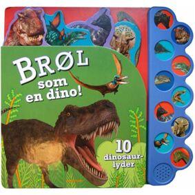 Brøl som en dino! - 10 dinosaurlyder